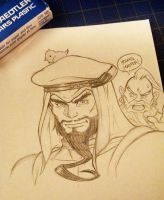 street fighter - rashid + azam by damndamndrum