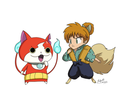 Double Yokai (Commission Request Part 2 of 6) by SeiferA