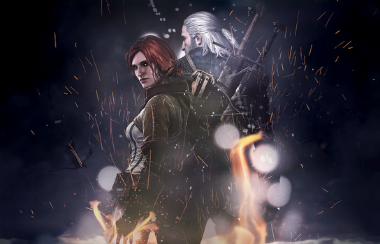 Triss and Gerald by Lake90