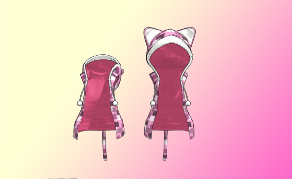 MMD Tiger Hood -Hood up or down- by amiamy111