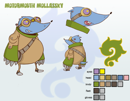 Motormouth Molassky by SolomonMars