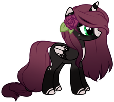 Pretty Pony Collab Adopt by axolotlshy