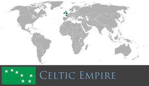 Greater Celtic Empire by PrussianInk