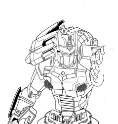 TF Cybertronians Optimus by shatteredglasscomic
