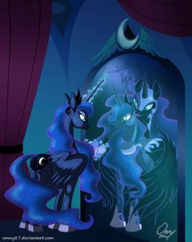 For Doombudgies: Luna's Reflection by Omny87
