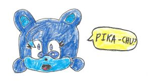 Relic the Pika says PIKA-CHU by dth1971