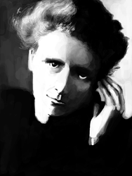 Marie Curie by BLACK-CROWN
