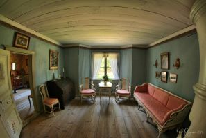 Old living room by Pajunen