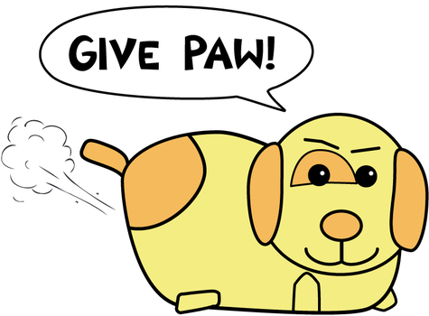 Give Paw by Pattulus