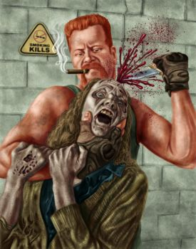 Abraham TWD by dragynsart