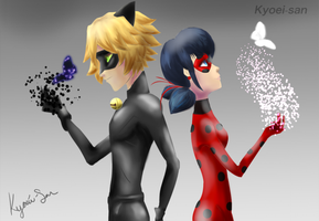 Miraculous Ladybug Fan art by Kyoei-San