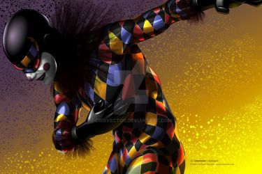 Harlequin by CrisVector