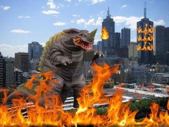Neronga Destroying And Wrecking In Melbourne by attilamaxsiolo