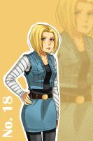 Android 18 by koopazzu