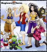 RPG World: Mugiwara Heros by I-heart-Link