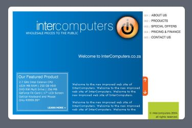 InterComputers Web Site by tmgtheperson