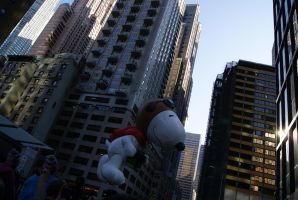 Flying Snoopy by wafitz