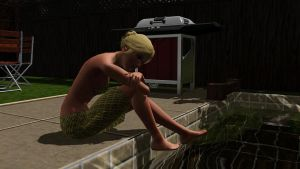 TS3: By The Pool by riezforester