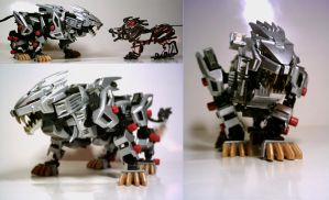 Poseable Liger Zero by The-Twist-Tie-Guy