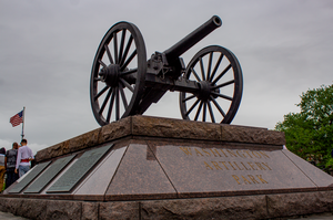 Washington Artillery Park by AaronMk