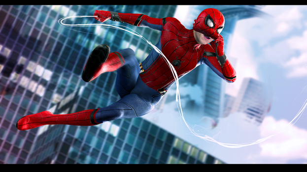 Spiderman : Homecoming by HardRainer