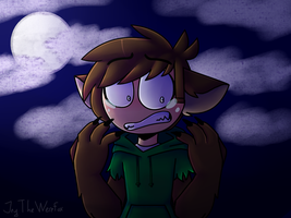 [Eddsworld] Werewolf Edd transformation by JeyTheWerefox