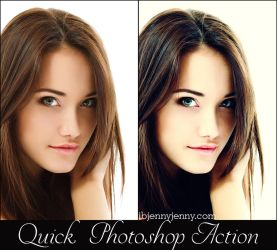 Free Quick Photoshop Action by ibjennyjenny
