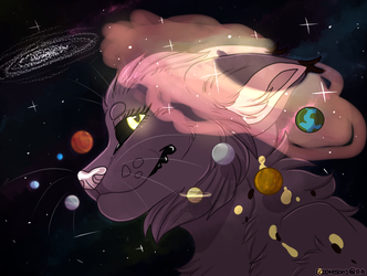 Galactic cat by Scooteson1