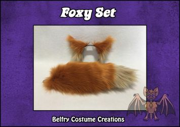 Foxy Costume Set by BelfryCo