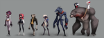 Grimm Characters by sambragg