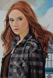 Amelia Pond - Dr Who by EclepticGears