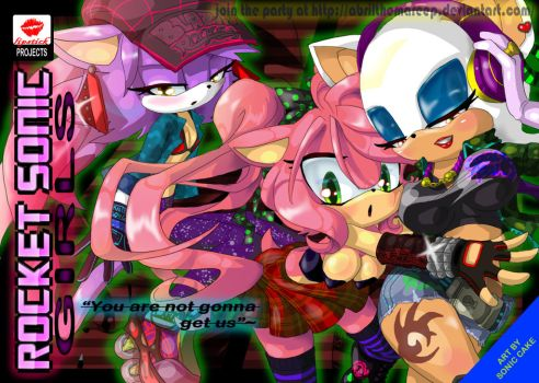 ROCKET SONIC GIRLS by AbrilTheMareep