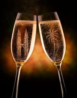 Champagne by ongchewpeng