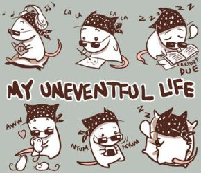 :ID: my uneventful life by wredwrat