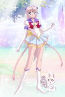 Eternal Sailor Aurora and Yoake by CrystalSailorMoon