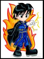 The Flame Chibi by Ninja-Chic