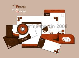 Urban Orange Identity by flashparade