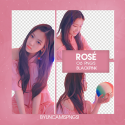 [PNG PACK #67] ROSE (BLACKPINK) by fairyixing