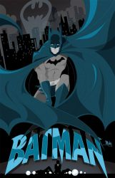 Batman by MikeMahle
