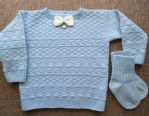 Wool Sweater for Toddler by ToveAnita