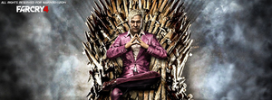 Far Cry 4 On The Throne by Naif1470
