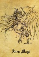 NAVID the Aven Magi concept by Steamrider86