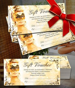 voucher spa flyer elegant by winiardesign