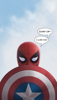 Sorry cap--! by gijex