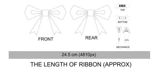 Ribbon design by Mantafa