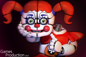FNAF SL - Circus Baby by GamesProduction