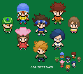 Digimon - Pokemon Style by Blue-Cup