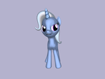 3D Pony Trixie Lulamon by kasumaky