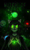Witch of Space - HOMESTUCK by Hilaletto