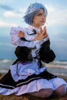Rem from Re zero: re-life in a different world by Kameiliya